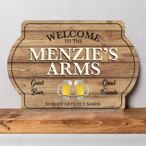 Personalised Pub Sign