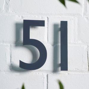 Acrylic Cut House Number 15 cm