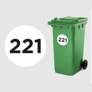 Wheelie Bin Number - Alnwick