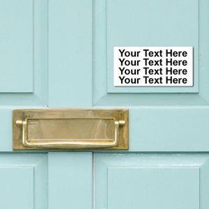 Notice Sign 10cm x 20cm