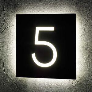 Illuminated House Signs 24cm x 24cm