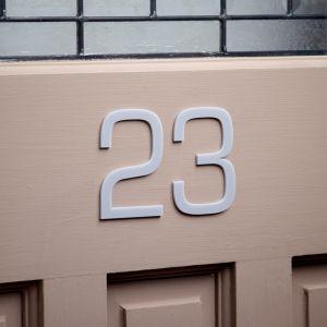 Acrylic Door Number 10cm