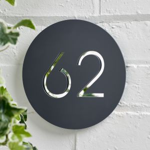 Modern House Sign 20cm x 20cm - Messina