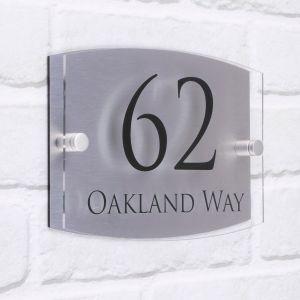 Acrylic House Sign Oakland