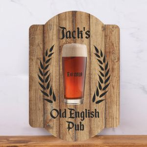 Personalised Old English Pub Sign