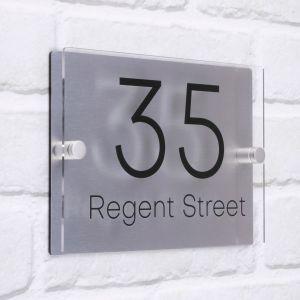 Acrylic House Sign Regent
