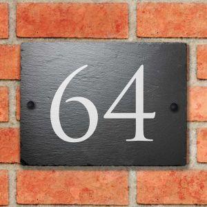 Rustic Slate House Sign Snowdonia 15cm x 20cm