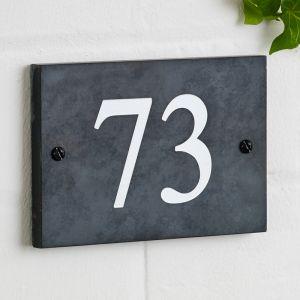 Slate House Sign 10cm x 15cm